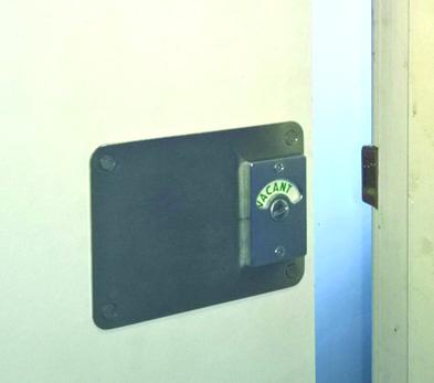 Toilet Cubicle Replacement Lock Kit