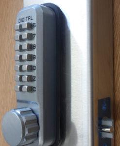 digital lock repair plate