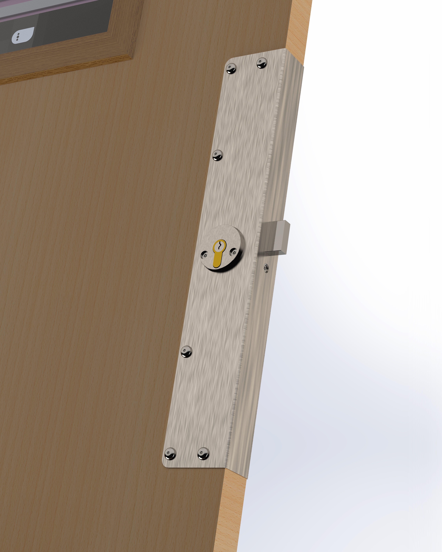 Wooden Door Repair Plate